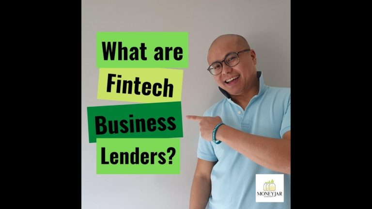 What are fintech business lenders?