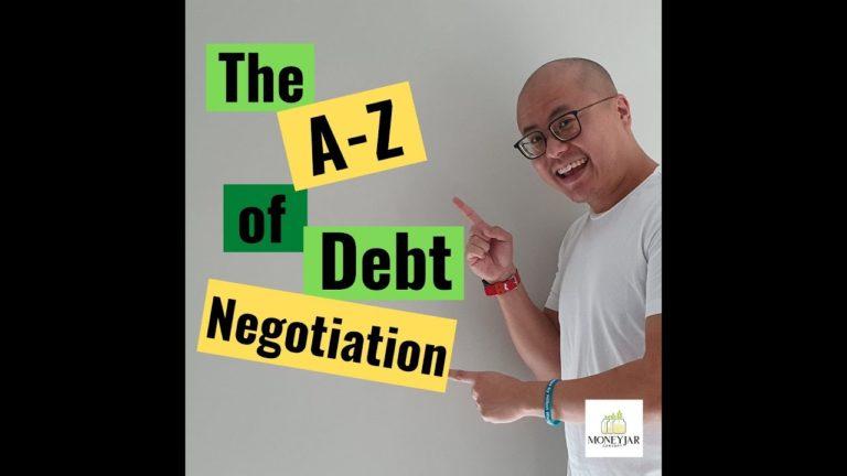 Debt negotiation A-Z