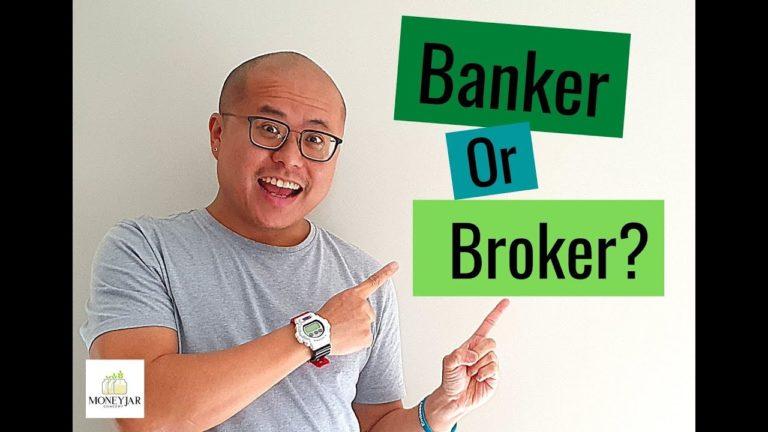 Banker or broker?