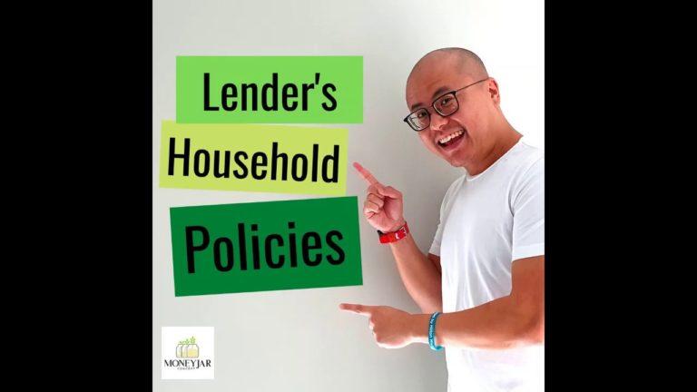 Lender's household policies