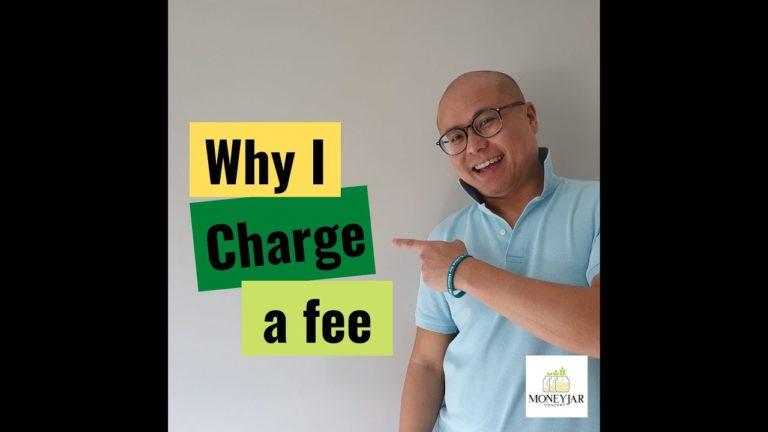 Why I charge a fee